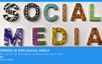 Trends in den Social Media